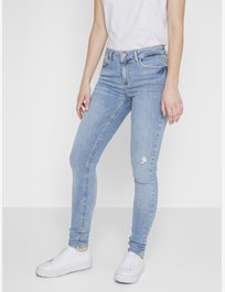 SMAL STRETCHJEANS, MEDIUM WAIST
