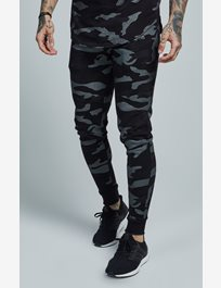 Fitted Jogger - Black Camo