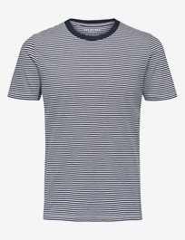 Slhthe Perfect Stripe Ss O-Neck Tee