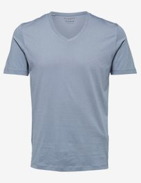 Slhthe Perfect Ss V-Neck Tee