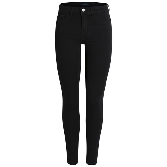 Pcshape-Up Mw Jeggings Blk/Noos