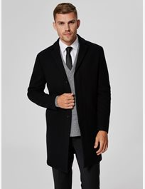 Slhbrove Wool Coat BLACK