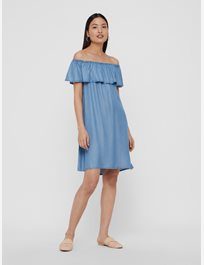 Vmmia Tencel Flounce Summer Dress