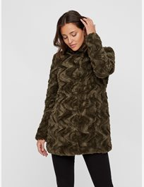 Jacka i fuskpäls Vmcurl High Neck Faux Fur Jacket
