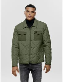 Quiltad jacka Onsrain Ribstop Quilted Jacket