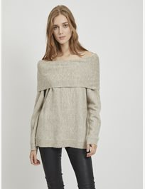 stickad tröja Vicalo Knit Off Shoulder Top
