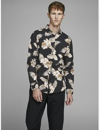 MÖNSTRAD SKJORTA Jprbla Smith Flower Shirt L/S