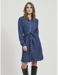 Jeansklänning med knytband Vibista Denim Belt Dress