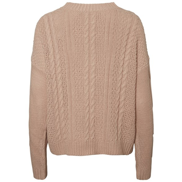 Vmwale Cable Ls O-Neck Blouse